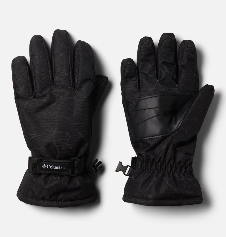 Y Core™ Glove | 014 | S Kids' Core™ Gloves, Black Crackle Print, front