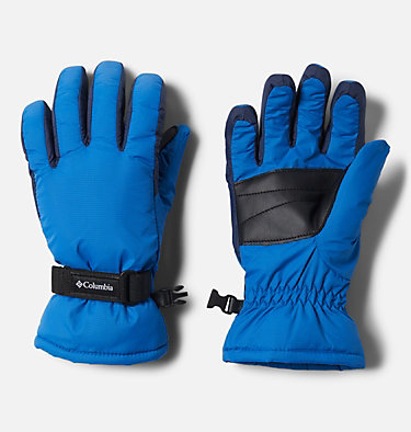 Kids' Core™ Gloves Y Core™ Glove | 013 | L, Bright Indigo, Collegiate Navy, front