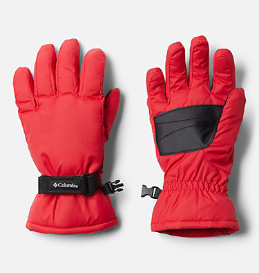 Kids' Core™ Gloves Y Core™ Glove | 658 | L, Red Lily, front