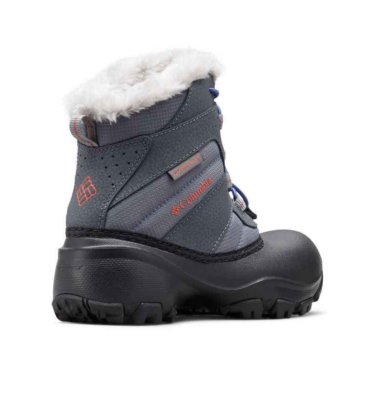 Big Kids' Rope Tow™ Waterproof Faux-Fur Trim Boot Big Kids' Rope Tow™ Waterproof Faux-Fur Trim Boot, 3/4 back