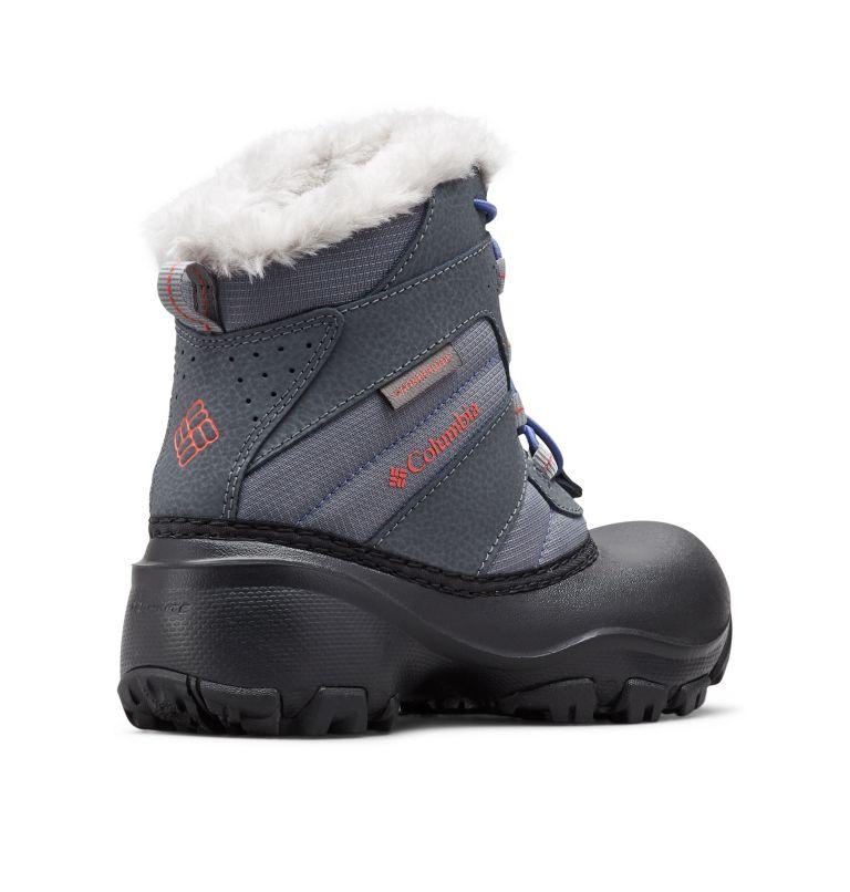 YOUTH ROPE TOW™ III WATERPROOF   033   6 Big Kids' Rope Tow™ Waterproof Faux-Fur Trim Boot, Ti Grey Steel, Red Canyon, 3/4 back