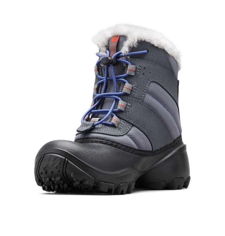 YOUTH ROPE TOW™ III WATERPROOF   033   6 Big Kids' Rope Tow™ Waterproof Faux-Fur Trim Boot, Ti Grey Steel, Red Canyon