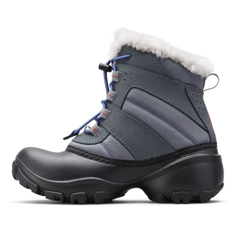 Big Kids' Rope Tow™ Waterproof Faux-Fur Trim Boot Big Kids' Rope Tow™ Waterproof Faux-Fur Trim Boot, medial