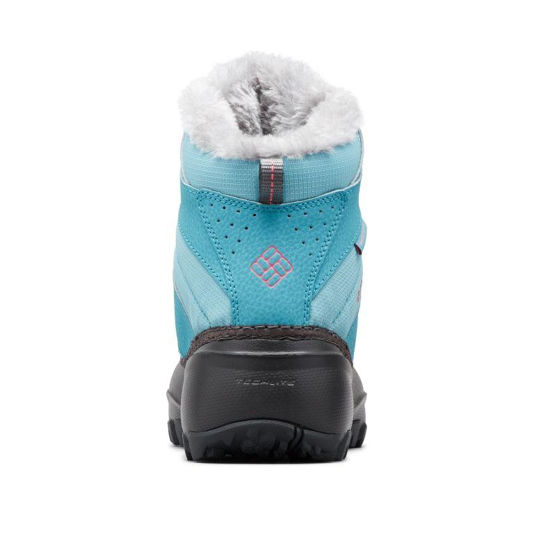 YOUTH ROPE TOW™ III WATERPROOF | 341 | 7 Big Kids' Rope Tow™ Waterproof Faux-Fur Trim Boot, Iceberg, Camellia Rose, back