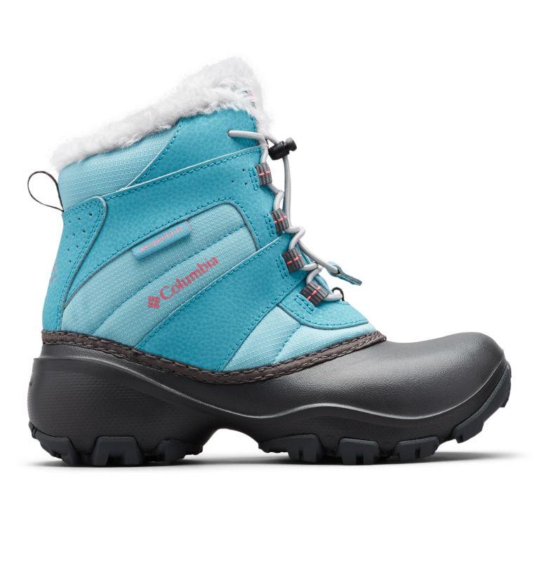 YOUTH ROPE TOW™ III WATERPROOF | 341 | 7 Big Kids' Rope Tow™ Waterproof Faux-Fur Trim Boot, Iceberg, Camellia Rose, front