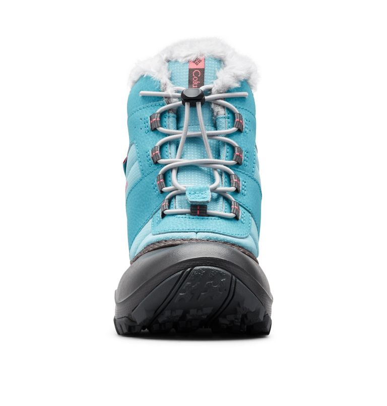 YOUTH ROPE TOW™ III WATERPROOF | 341 | 7 Big Kids' Rope Tow™ Waterproof Faux-Fur Trim Boot, Iceberg, Camellia Rose, toe