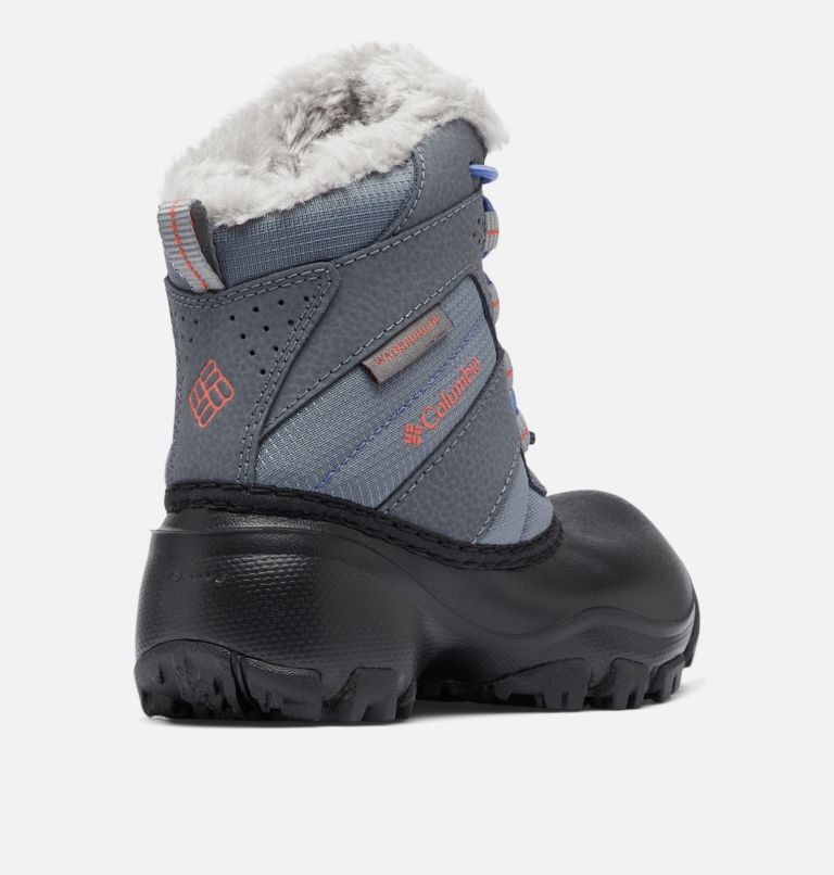 CHILDRENS ROPE TOW™ III WATERP | 033 | 8 Botte imperméable Rope Tow™ III Enfant, Ti Grey Steel, Red Canyon, 3/4 back