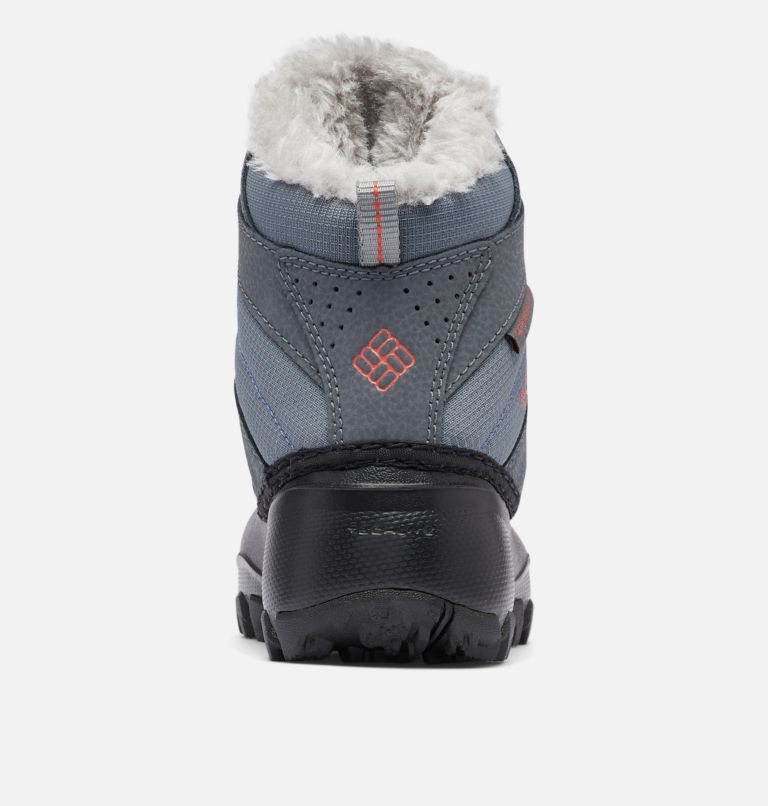 CHILDRENS ROPE TOW™ III WATERP | 033 | 8 Botte imperméable Rope Tow™ III Enfant, Ti Grey Steel, Red Canyon, back