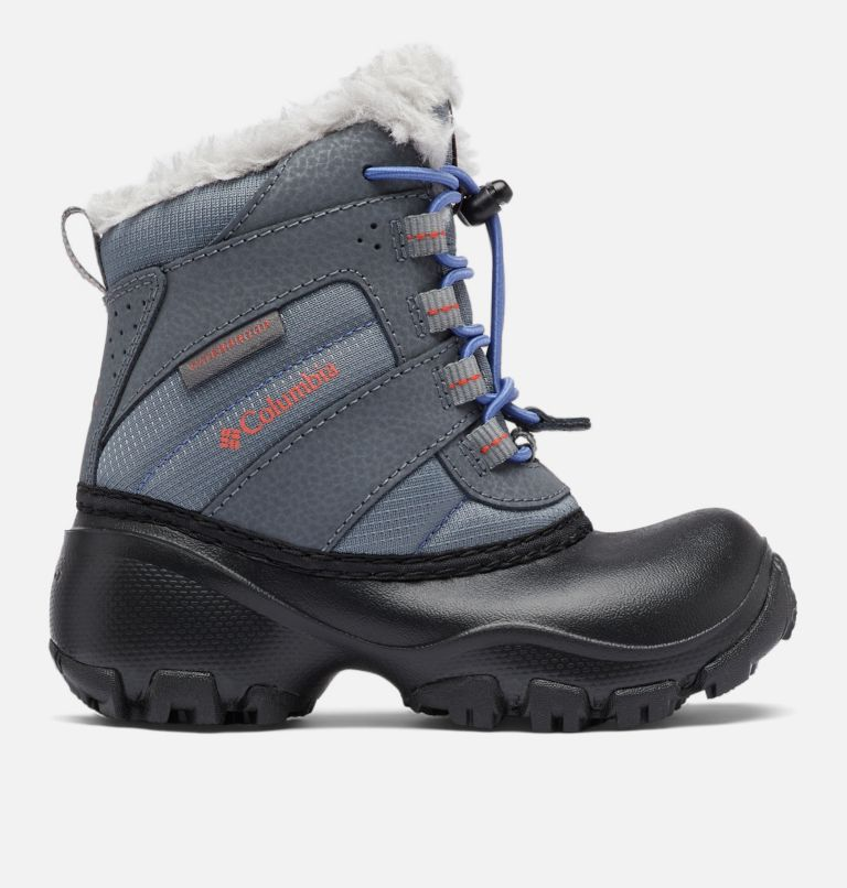 CHILDRENS ROPE TOW™ III WATERP | 033 | 12 Botte imperméable Rope Tow™ III Enfant, Ti Grey Steel, Red Canyon, front