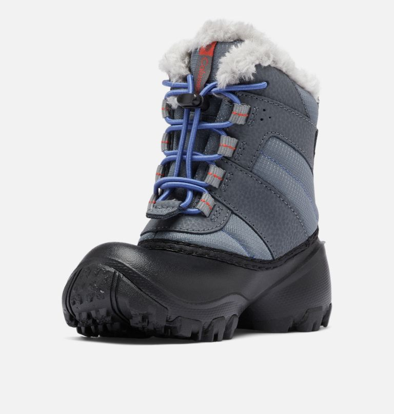 CHILDRENS ROPE TOW™ III WATERP | 033 | 12 Botte imperméable Rope Tow™ III Enfant, Ti Grey Steel, Red Canyon