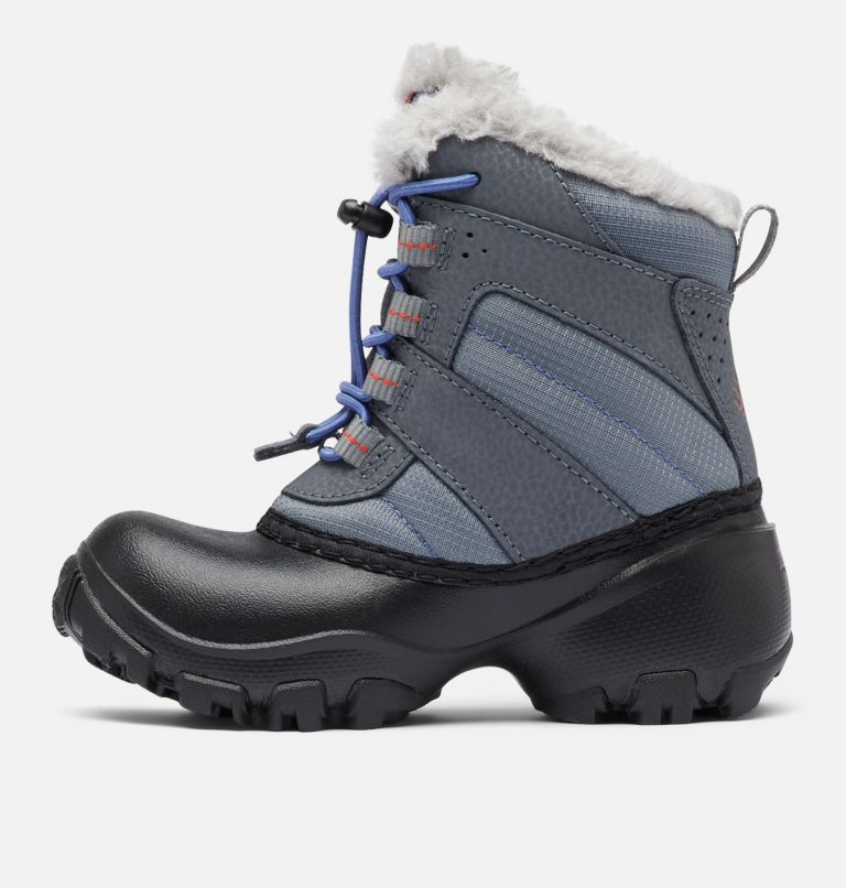 CHILDRENS ROPE TOW™ III WATERP | 033 | 8 Botte imperméable Rope Tow™ III Enfant, Ti Grey Steel, Red Canyon, medial