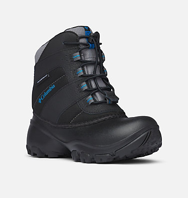 Rope Tow™ III wasserdichter Stiefel Junior YOUTH ROPE TOW™ III WATERPROOF | 437 | 4.5, Black, Dark Compass, 3/4 front