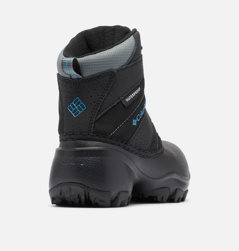 CHILDRENS ROPE TOW™ III WATERP | 010 | 10 Little Kids' Rope Tow™ Waterproof Boot, Black, Dark Compass, 3/4 back