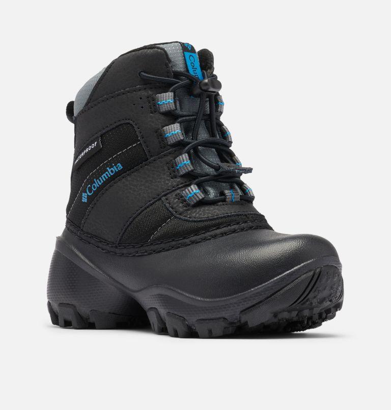 CHILDRENS ROPE TOW™ III WATERP | 010 | 13 Little Kids' Rope Tow™ Waterproof Boot, Black, Dark Compass, 3/4 front
