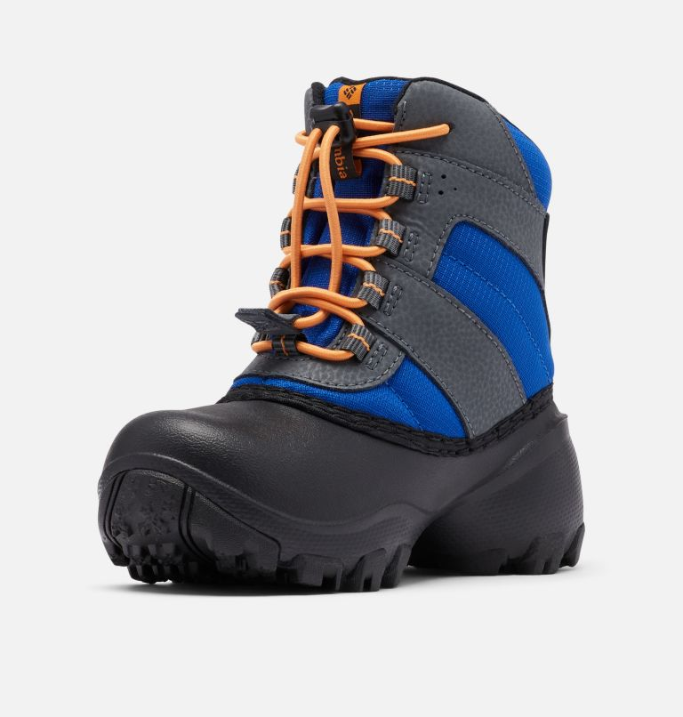 CHILDRENS ROPE TOW™ III WATERP | 437 | 8 Little Kids' Rope Tow™ Waterproof Boot, Azul, Orange Blast