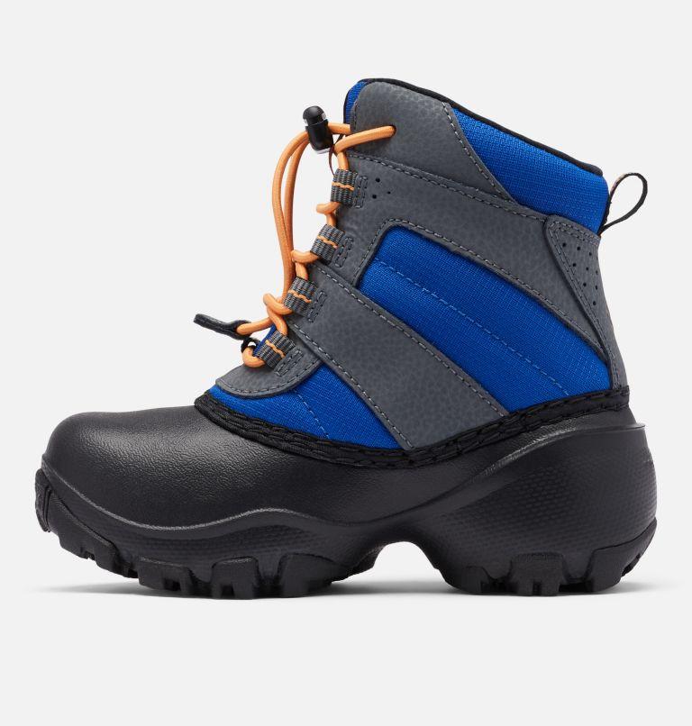 CHILDRENS ROPE TOW™ III WATERP | 437 | 13 Little Kids' Rope Tow™ Waterproof Boot, Azul, Orange Blast, medial