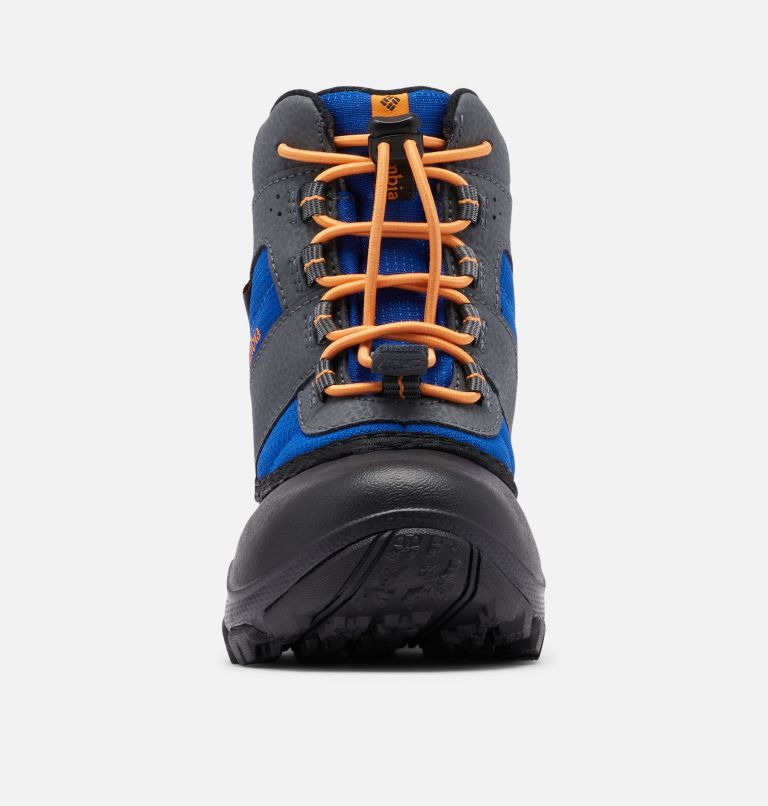 CHILDRENS ROPE TOW™ III WATERP | 437 | 9 Little Kids' Rope Tow™ Waterproof Boot, Azul, Orange Blast, toe