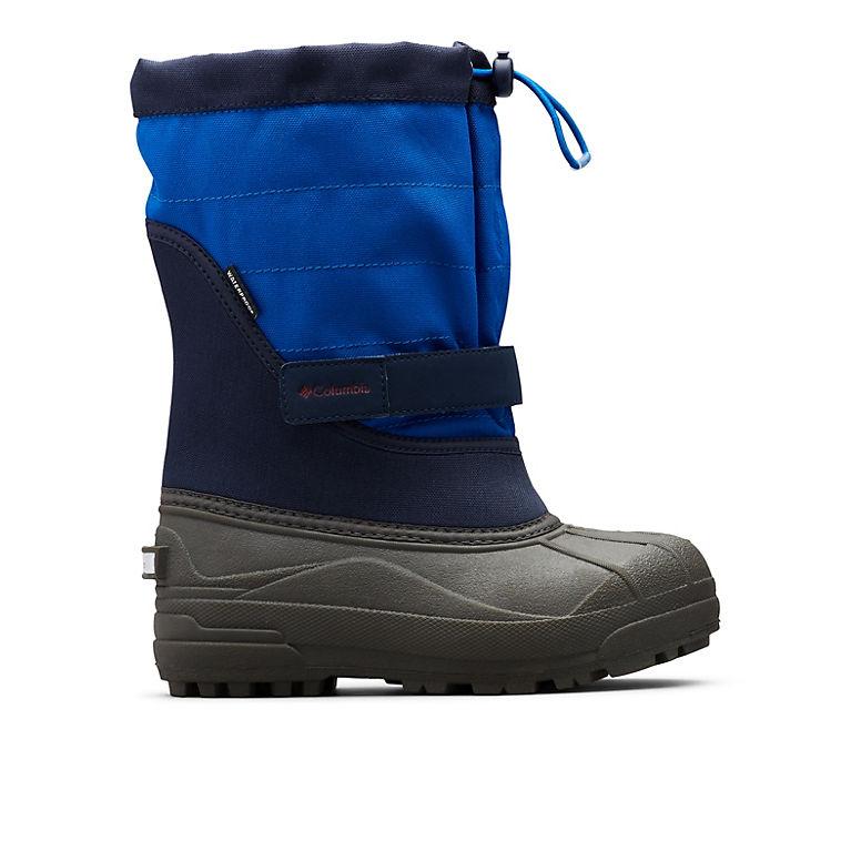 Columbia Big Kids Powderbug Plus II Waterproof Insulated Snow Boots Boys Girls
