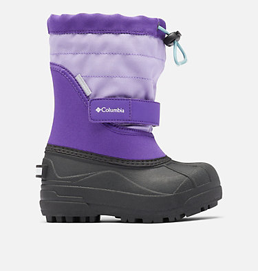 Little Kids' Powderbug™ Plus II Snow Boot CHILDRENS POWDERBUG™ PLUS II | 513 | 10, Emperor, Paisley Purple, front