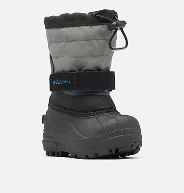 Toddler Powderbug™ Plus II Snow Boot TODDLER POWDERBUG™ PLUS II | 513 | 4, Black, Hyper Blue, 3/4 front