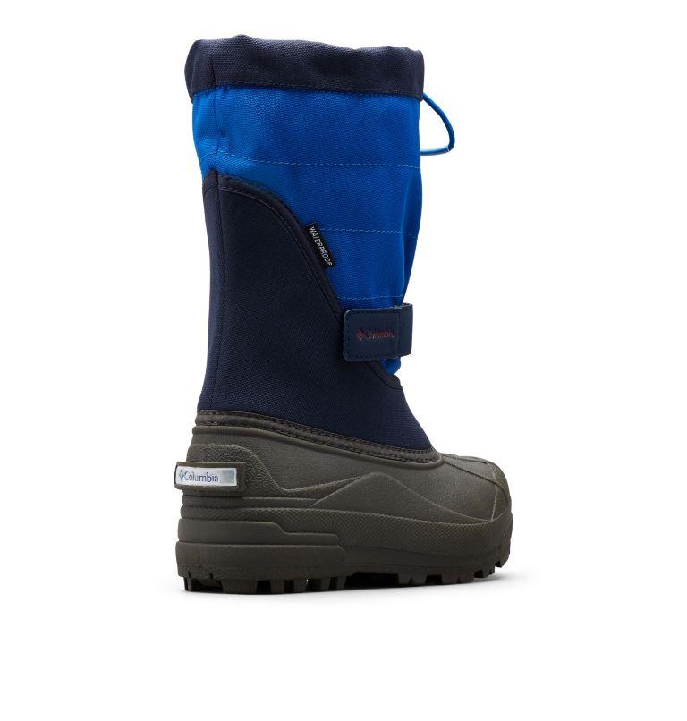 TODDLER POWDERBUG™ PLUS II | 464 | 6 Toddler Powderbug™ Plus II Snow Boot, Collegiate Navy, Chili, 3/4 back