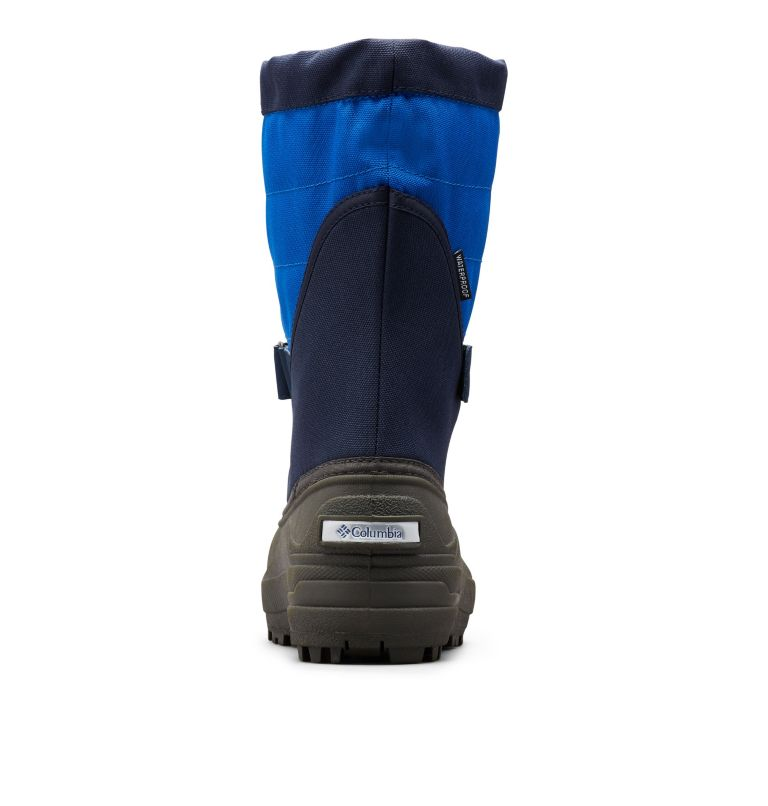 TODDLER POWDERBUG™ PLUS II | 464 | 6 Toddler Powderbug™ Plus II Snow Boot, Collegiate Navy, Chili, back
