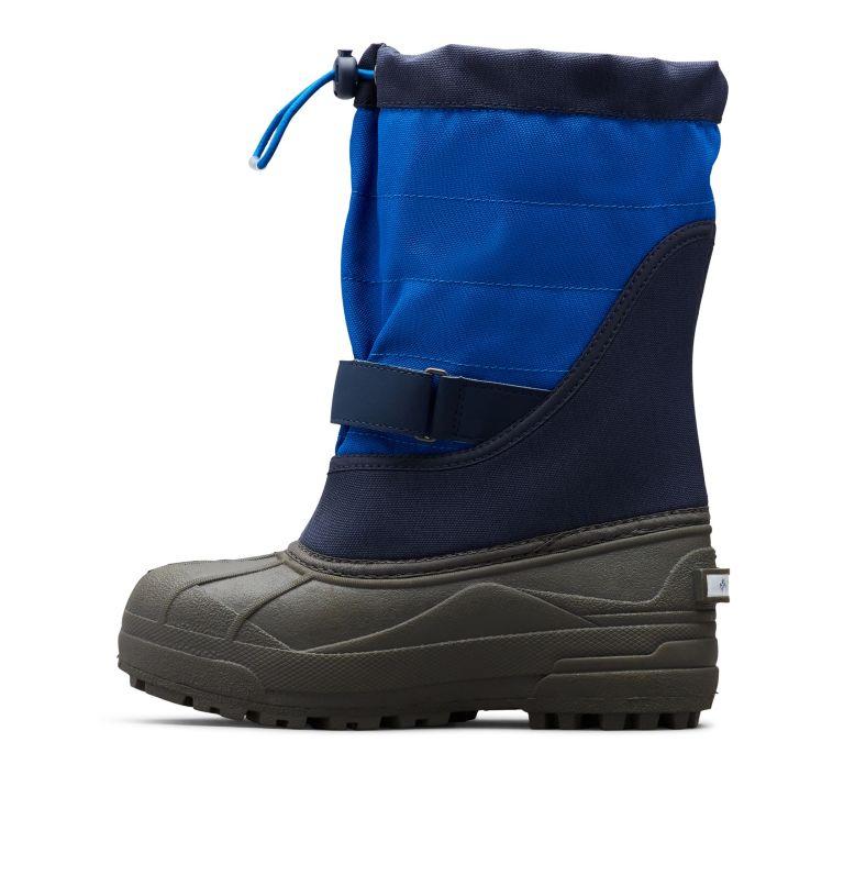 TODDLER POWDERBUG™ PLUS II | 464 | 6 Toddler Powderbug™ Plus II Snow Boot, Collegiate Navy, Chili, medial