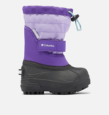 Toddler Powderbug™ Plus II Snow Boot TODDLER POWDERBUG™ PLUS II | 513 | 4, Emperor, Paisley Purple, front