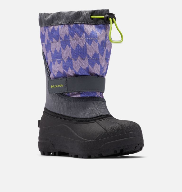 Big Kids' Powderbug™ Plus II Print Snow Boot Big Kids' Powderbug™ Plus II Print Snow Boot, 3/4 front