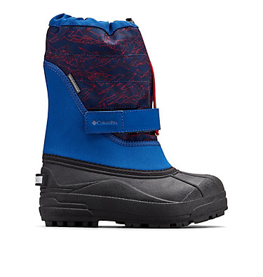 Big Kids' Powderbug™ Plus II Print Snow Boot YOUTH POWDERBUG™ PLUS II PRINT | 053 | 1, Royal, Rocket, front