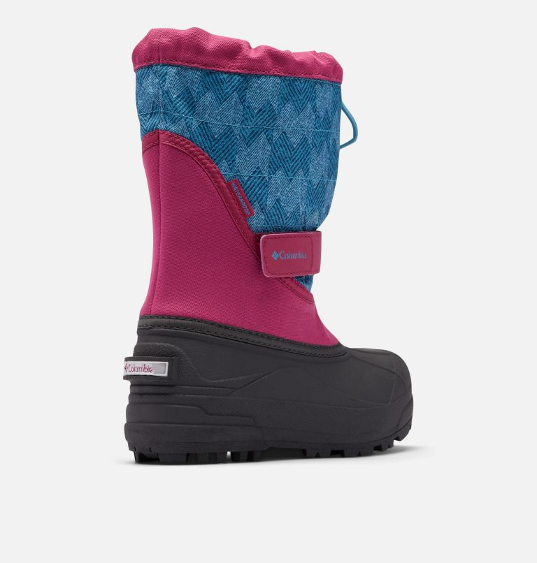 Big Kids' Powderbug™ Plus II Print Snow Boot Big Kids' Powderbug™ Plus II Print Snow Boot, 3/4 back