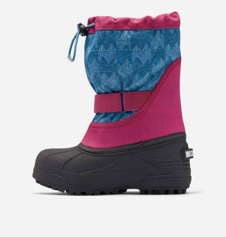 Big Kids' Powderbug™ Plus II Print Snow Boot Big Kids' Powderbug™ Plus II Print Snow Boot, medial