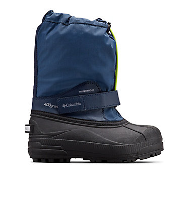 Big Kids' Powderbug™ Forty Snow Boot YOUTH POWDERBUG™ FORTY | 408 | 1, Whale, Fission, front