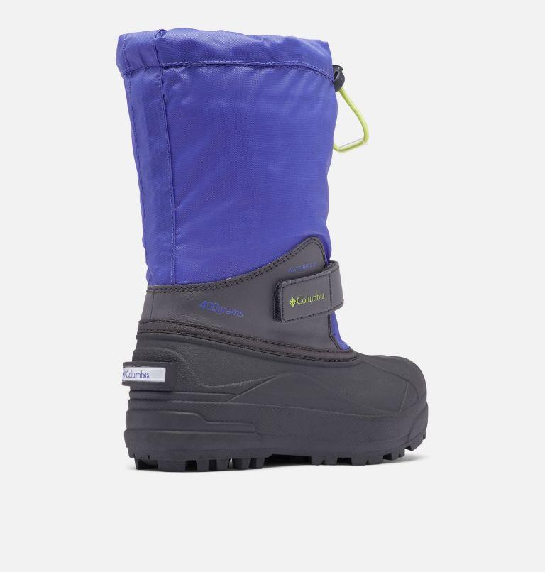 YOUTH POWDERBUG™ FORTY   546   6 Big Kids' Powderbug™ Forty Snow Boot, Purple Lotus, Voltage, 3/4 back