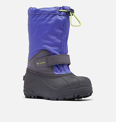 Big Kids' Powderbug™ Forty Snow Boot YOUTH POWDERBUG™ FORTY | 408 | 1, Purple Lotus, Voltage, 3/4 front