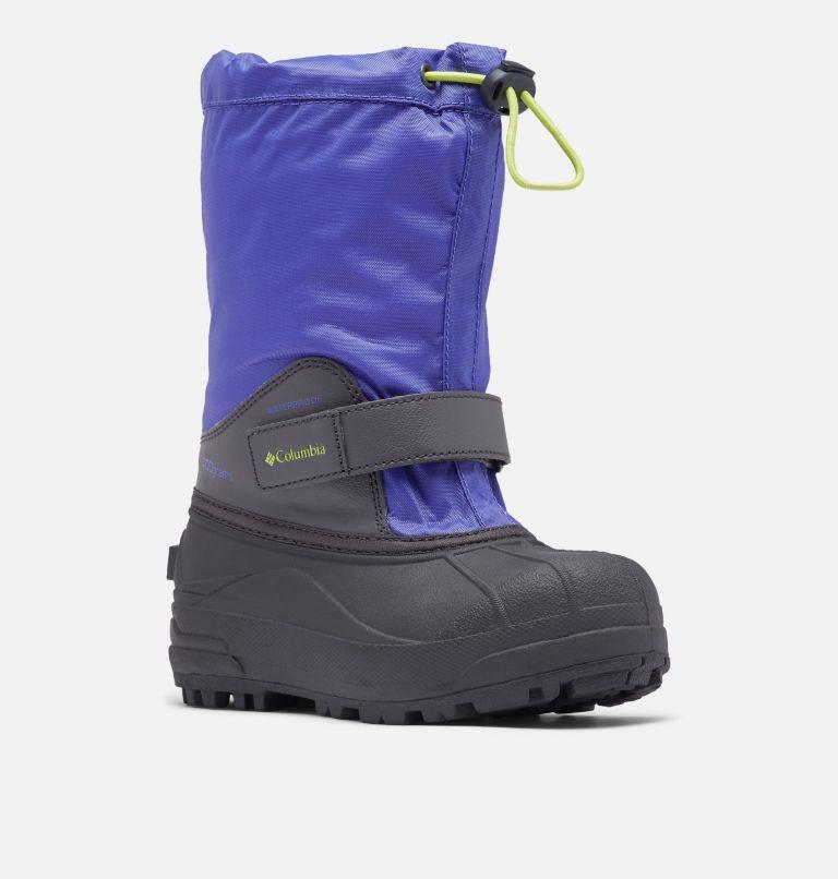 YOUTH POWDERBUG™ FORTY   546   6 Big Kids' Powderbug™ Forty Snow Boot, Purple Lotus, Voltage, 3/4 front