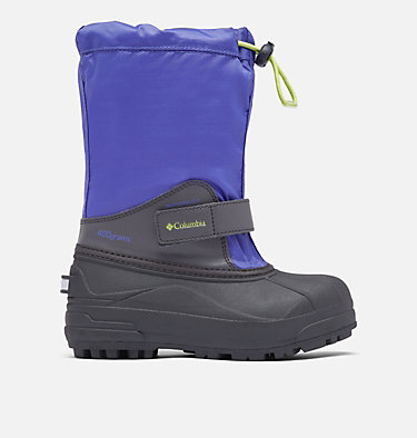 Big Kids' Powderbug™ Forty Snow Boot YOUTH POWDERBUG™ FORTY | 408 | 1, Purple Lotus, Voltage, front