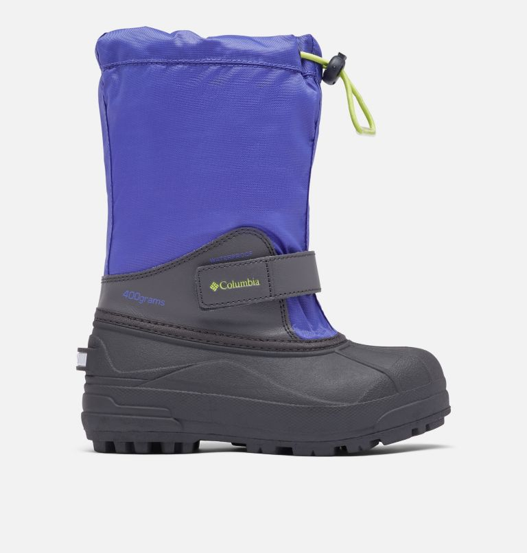 YOUTH POWDERBUG™ FORTY   546   6 Big Kids' Powderbug™ Forty Snow Boot, Purple Lotus, Voltage, front