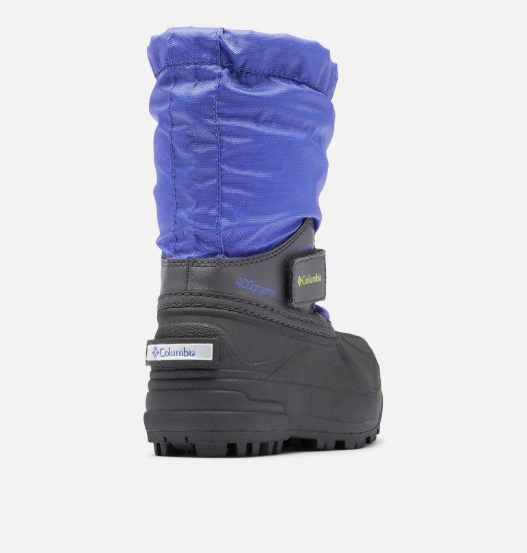 CHILDRENS POWDERBUG™ FORTY | 546 | 8 Little Kids' Powderbug™ Forty Snow Boot, Purple Lotus, Voltage, 3/4 back