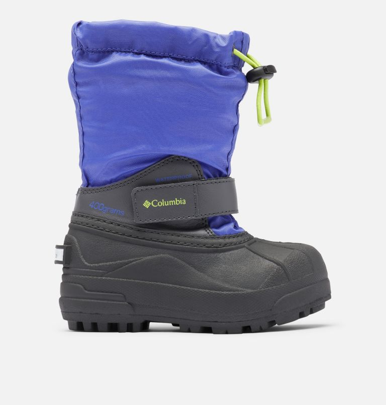 CHILDRENS POWDERBUG™ FORTY | 546 | 8 Little Kids' Powderbug™ Forty Snow Boot, Purple Lotus, Voltage, front