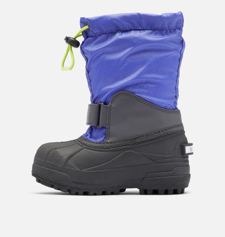 CHILDRENS POWDERBUG™ FORTY | 546 | 8 Little Kids' Powderbug™ Forty Snow Boot, Purple Lotus, Voltage, medial