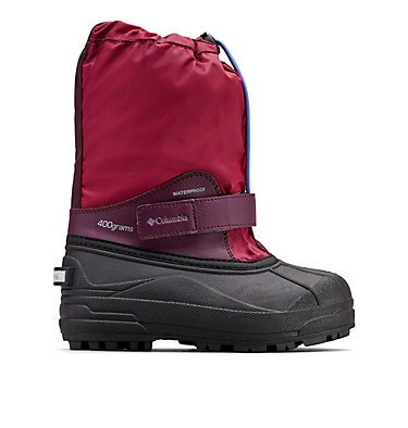 Bottes Forty Powderbug™ pour enfant CHILDRENS POWDERBUG™ FORTY | 408 | 10, Wine Berry, Arctic Blue, front