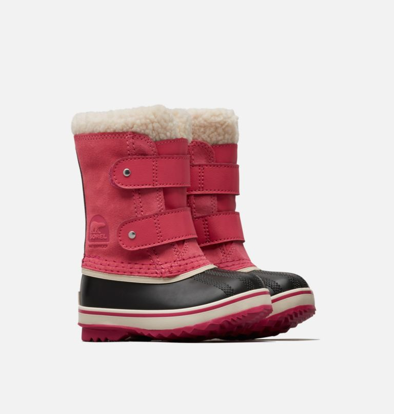 TODDLER 1964 PAC™ STRAP | 652 | 4 Toddler 1964 Pac™ Strap Boot, Tropic Pink, 3/4 front