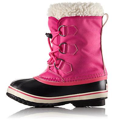 Big Kids' Yoot Pac™  Nylon Boot YOOT PAC™ NYLON | 627 | 4.5, Haute Pink, medial