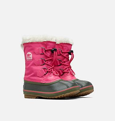 Big Kids' Yoot Pac™  Nylon Boot YOOT PAC™ NYLON | 627 | 4.5, Ultra Pink, Alpine Tundra, 3/4 front