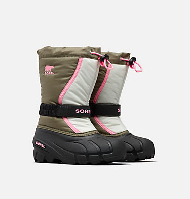 Botas Flurry™ para niños talla 32-39 YOUTH FLURRY™ | 684 | 3, Hiker Green, 3/4 front