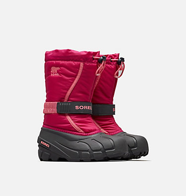 Botas Flurry™ para niños talla 32-39 YOUTH FLURRY™ | 684 | 3, Deep Blush, Tropic Pink, 3/4 front