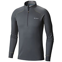 Deals on Columbia Mens Heavyweight II Stretch Long Sleeve Half Zip Shirt