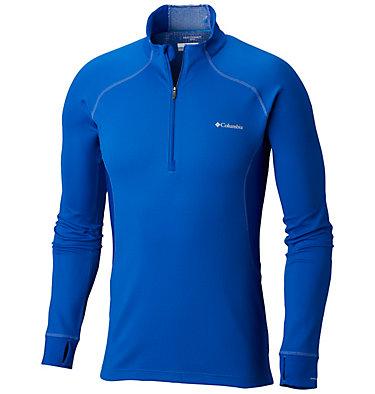 Men's Heavyweight II Stretch Baselayer Long Sleeve Half Zip Shirt , front