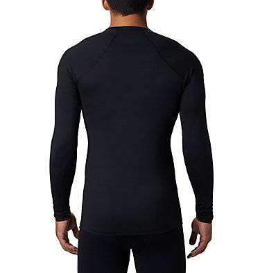 Men's Heavyweight Stretch Long Sleeve Shirt Heavyweight Stretch Long Sleeve Top | 613 | L, Black, back